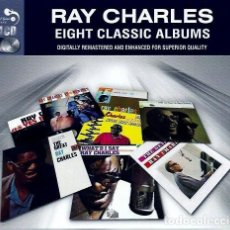 CDs de Música - ray charles Eight Classic Albums 4 cd box - 160604750