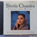 CDs de Música: SHEILA CHANDRA - ROOTS AND WINGS - CD US 1995 - INDIPOP. Lote 160607846