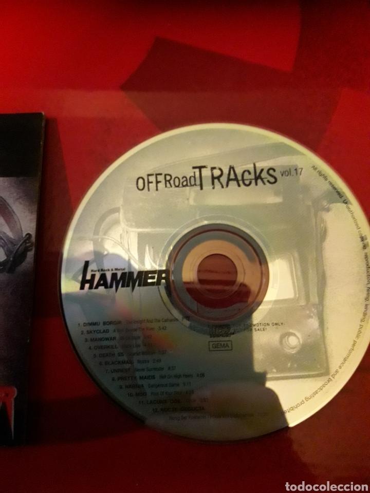 CDs de Música: Off Road Tracks Vol 17 CD Dimmu Borgir Skyclad Manowar Overkill Death SS Blackmail Unrest etc - Foto 3 - 160613892