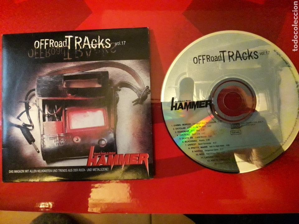 OFF ROAD TRACKS VOL 17 CD DIMMU BORGIR SKYCLAD MANOWAR OVERKILL DEATH SS BLACKMAIL UNREST ETC (Música - CD's Heavy Metal)