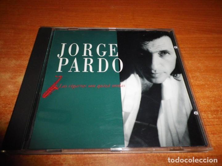 JORGE PARDO LAS CIGARRAS SON QUIZA SORDAS CD ALBUM DEL AÑO 1991 9 TEMAS RAY HEREDIA GERARDO HUÑEZ (Música - CD's Jazz, Blues, Soul y Gospel)