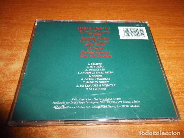 CDs de Música: JORGE PARDO Las cigarras son quiza sordas CD ALBUM DEL AÑO 1991 9 TEMAS RAY HEREDIA GERARDO HUÑEZ - Foto 2 - 160616370