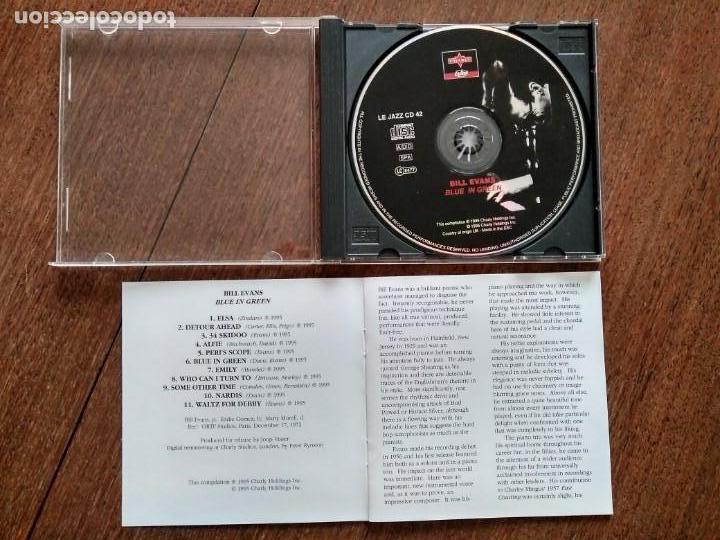 CDs de Música: CD BILL EVANS BLUE IN GREEN - Foto 2 - 160621502