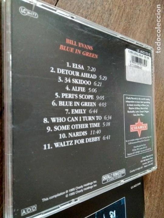 CDs de Música: CD BILL EVANS BLUE IN GREEN - Foto 3 - 160621502