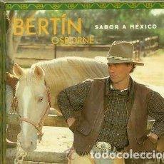 CDs de Música: BERTIN OSBORNE (CD 2000) SABOR A MEXICO. Lote 160622038