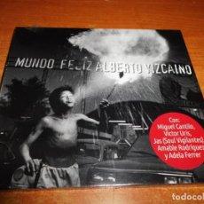 CDs de Música: ALBERTO VIZCAINO MUNDO FELIZ CD DIGIPACK PRECINTADO MIGUEL CANTILO VICTOR URIS JAS ADELA FERRER. Lote 160623750