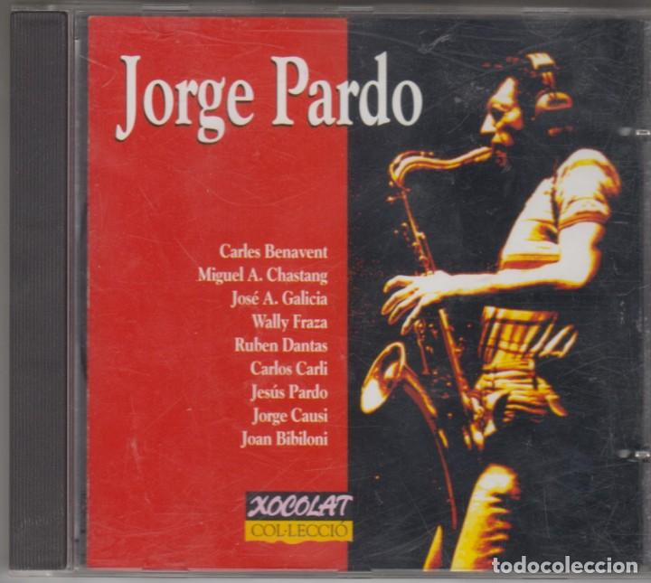 JORGE PARDO CD 1993 CARLES BENAVENT JOAN BIBILONI (Música - CD's Jazz, Blues, Soul y Gospel)