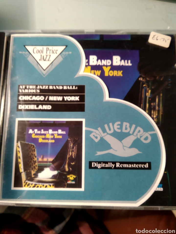 VARIOUS ‎– AT THE JAZZ BAND BALL - CHICAGO/NEW YORK DIXIELAND (Música - CD's Jazz, Blues, Soul y Gospel)