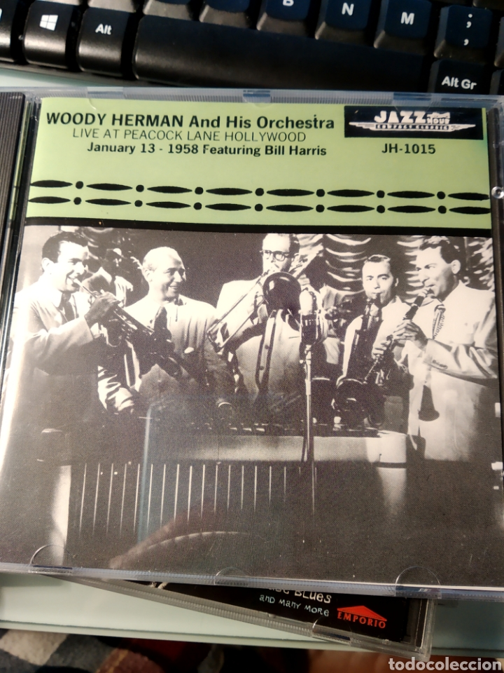 WOODY HERMAN AND HIS ORCHESTRA FEATURING BILL HARRIS ‎– LIVE AT PEACOCK LANE HOLLYWOOD JANUARY 13 - (Música - CD's Jazz, Blues, Soul y Gospel)