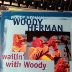 CDs de Música: WOODY HERMAN – WAILIN' WITH WOODY (DOBLE CD). Lote 160641314