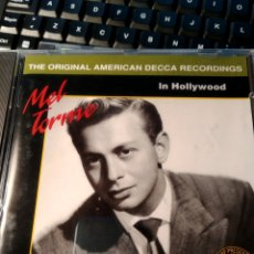 CDs de Música: MEL TORMÉ ‎– MEL TORMÉ IN HOLLYWOOD. Lote 160641546