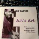 CDs de Música: ART TATUM – ART'S ART. Lote 160641766
