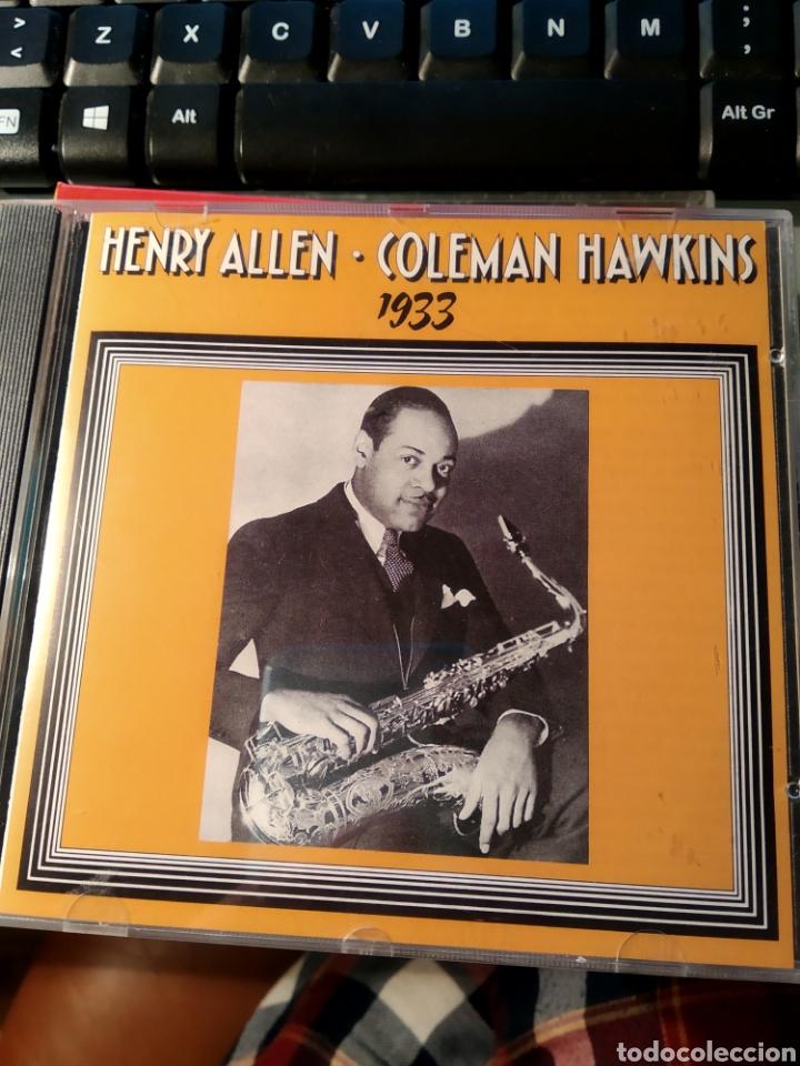 HENRY RED ALLEN, COLEMAN HAWKINS – HENRY ALLEN / COLEMAN HAWKINS 1933 (Música - CD's Jazz, Blues, Soul y Gospel)