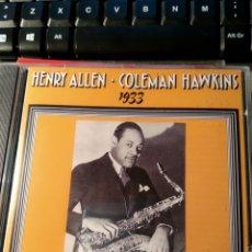CDs de Música: HENRY RED ALLEN, COLEMAN HAWKINS – HENRY ALLEN / COLEMAN HAWKINS 1933. Lote 160643322