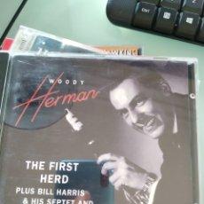 CDs de Música: WOODY HERMAN – THE FIRST HERD. Lote 160653186