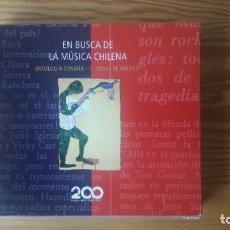 CDs de Música: EN BUSCA DE LA MÚSICA CHILENA (ANTOLOGÍA) - 71 OBRAS - 4 CD VARIOS ESTILOS. Lote 160674258