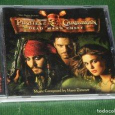 CDs de Música: BSO - PIRATES CARIBBEAN,DEAD MAN'S CHEST, PIRATAS CARIBE - HANS ZIMMER - 2006. Lote 160682554