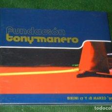 CDs de Música: FUNDACIÓN TONY MANERO – BIKINI 17 Y 18 DE MARZO ´99. Lote 160695958