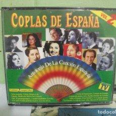 CDs de Música: COPLAS DE ESPAÑA - ANTOLOGIA DE LA CANCION ESPAÑOLA VOL 2 - DOBLE CD . Lote 160696410