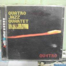 CDs de Música: QUATRO JAZZ QUARTET QU4TRO CD ALBUM ASTURIAS PEPETO. Lote 160697226