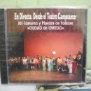 CDs de Música: XII CONCURSO Y MUESTRA DE FOLKLORE CIUDAD DE OVIEDO CD ALBUM ASTURIAS PRECINTADO . Lote 160697474