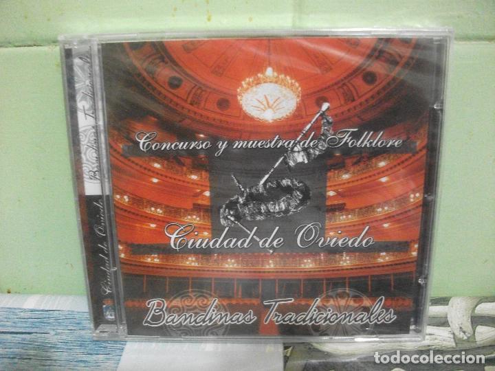 CONCURSO Y MUESTRA DE FOLKLORE CIUDAD DE OVIEDO BANDINAS TRADICIONALES ASTURIAS CD PRECINTADO PEPETO (Música - CD's Country y Folk)
