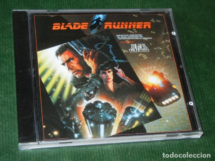 BLADE RUNNER. BSO. VANGELIS - ADAPTACIÓN DE THE NEW AMERICAN ORCHESTRA. 1982 (Música - CD's Bandas Sonoras)