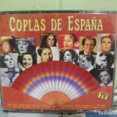 CDs de Música: COPLAS DE ESPAÑA - ANTOLOGIA DE LA CANCION ESPAÑOLA (DOBLE CD EMI 1990). Lote 160699126