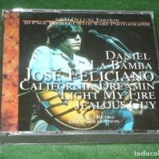 CDs de Música: JOSÉ FELICIANO - DEJAVU RETRO GOLD COLLECTION ( 2 CD´S) 2001. Lote 160699154