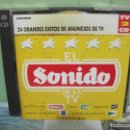 CDs de Música: EL SONIDO DE LA TV, 24 GRANDES EXITOS DE ANUNCIOS, 1994, DOBLE CD POP ROCK,. Lote 160700874