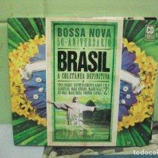 CDs de Música: BOSSA NOVA 50 ANIVERSARIO BRASIL VOL 2 CD TRIPLE DIGIPACK PEPETO. Lote 160701230