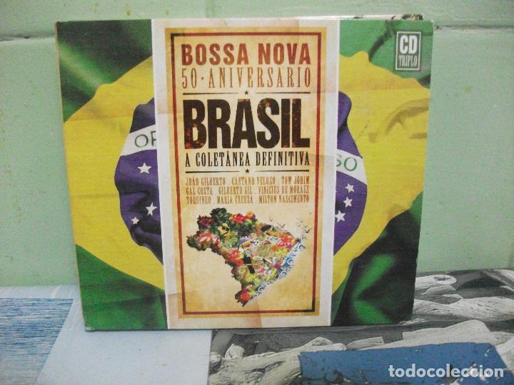 BOSSA NOVA 50 ANIVERSARIO BRASIL VOL 1 CD TRIPLE DIGIPACK (Música - CD's World Music)