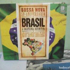 CDs de Música: BOSSA NOVA 50 ANIVERSARIO BRASIL VOL 1 CD TRIPLE DIGIPACK. Lote 160701446