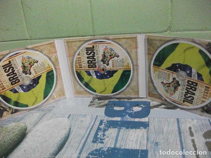 CDs de Música: BOSSA NOVA 50 ANIVERSARIO BRASIL VOL 1 CD TRIPLE DIGIPACK - Foto 2 - 160701446