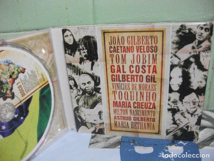 CDs de Música: BOSSA NOVA 50 ANIVERSARIO BRASIL VOL 1 CD TRIPLE DIGIPACK - Foto 3 - 160701446