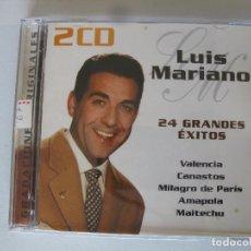 CDs de Música: LUIS MARIANO 24 GRANDES EXITOS. Lote 160737914