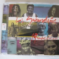 CDs de Música: LOS SABANDEÑOS - 19 NOMBRES DE MUJER - CD ALBUM. Lote 160738030