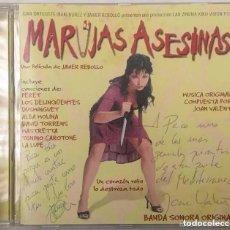 CDs de Música: MARUJAS ASESINAS / JOAN VALENT CD BSO. Lote 160740902