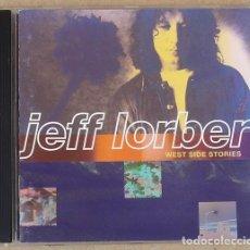 CDs de Música: JEFF LORBER - WEST SIDE STORIES (CD) 1994 - 11 TEMAS - USA. Lote 160743810