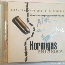 CDs de Música: HORMIGAS EN LA BOCA / XAVIER CAPELLAS CD BSO - SIGNED. Lote 160758102