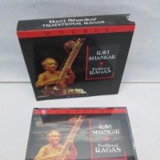 CDs de Música: RAVI SHANKAR. TRADICIONAL RAGAS. WORLD. 2 CD. RECORDING ARTS 2007. VER FOTOGRAFIAS. Lote 160765730