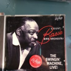 CDs de Música - Count Basie and his orchestra - Swingin Machine: Live - 160772086