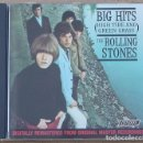 CDs de Música: THE ROLLING STONES - BIG HITS (HIGH TIDE AND GREEN GRASS) CD - 1986 - 12 TEMAS - ED. USA - NCD 1. Lote 160776006