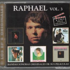 CDs de Música: RAPHAEL - VOL.3 - CD HISPAVOX 1996 RF-1433 , IMPECABLE ESTADO. Lote 160781730