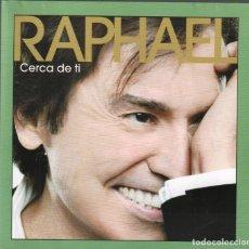 CDs de Música: RAPHAEL - CERCA DE TI / DOBLE CD DE 2011 RF-1435 , PERFECTO ESTADO. Lote 160782438