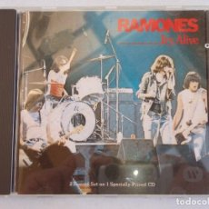 CDs de Música: RAMONES ( IT'S ALIVE ) 1990 - GERMANY CD. Lote 160784274