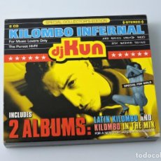 CDs de Música: KILOMBO INFERNAL DJ KUN SPECIAL COLLECTORS EDITION 2CD. Lote 160785778