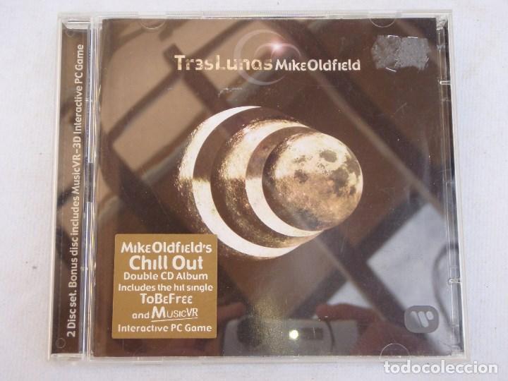 MIKE OLDFIELD'S ( TR3S LUNAS ) 2002 - GERMANY CD + CD-ROOM (Música - CD's New age)