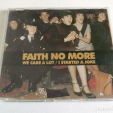CDs de Música: FAITH NO MORE - WE CARE A LOT/ I STARTED A JOKE (CD SINGLE) 1998 LONDON RECORDS . Lote 160807098