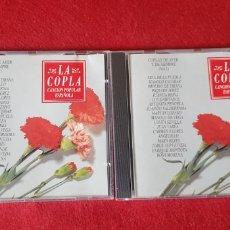 CDs de Música: COPLAS DE AYER Y DE SIEMPRE VOLUMEN 1 Y 2. Lote 160813617